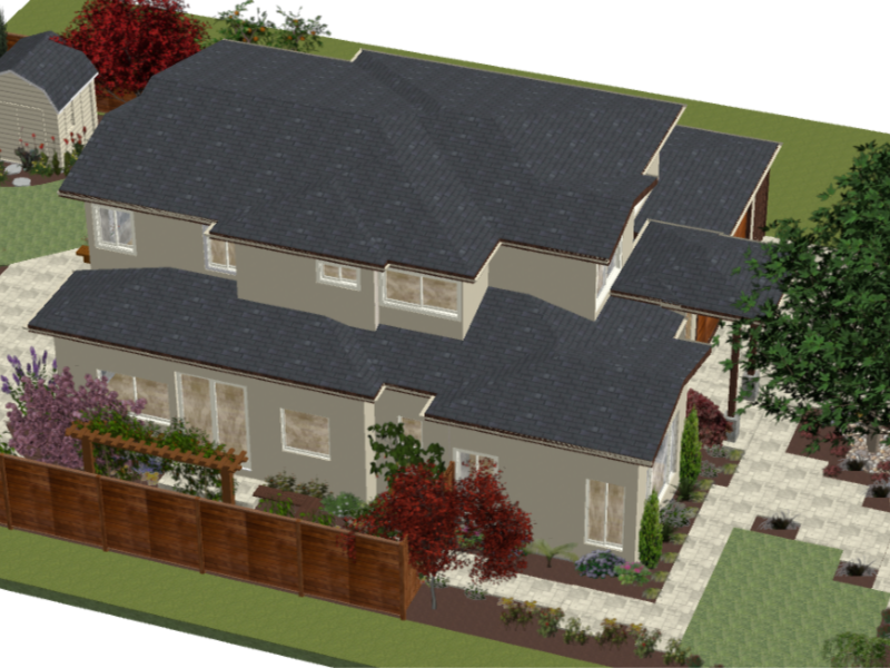 Landscaping Design - YardDoc - Austin, TX - 3D Design