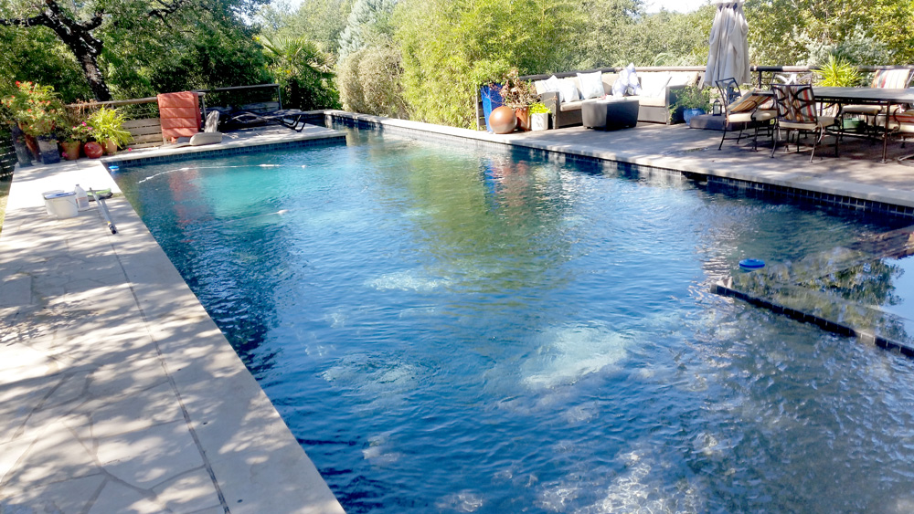Pool Service and Maintenance - YardDoc - Steiner Ranch, TX - Outdoor in ground pool cleaning