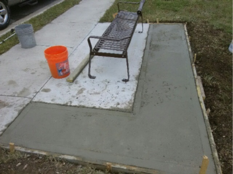Handyman Services - YardDoc - Austin, TX - Cement Repair Sidewalk Patio