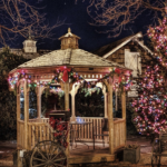 Handyman Services - YardDoc - Austin, TX - Holiday lights on tree and gazebo