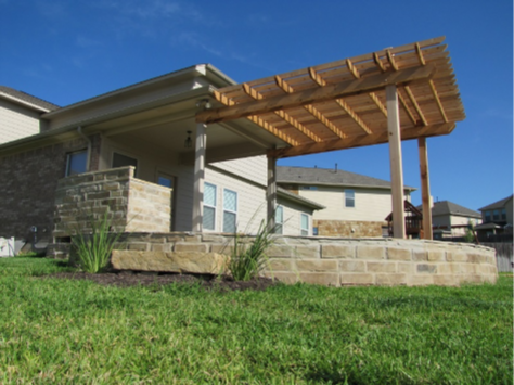 Handyman Services - YardDoc - Austin, TX - Landscaping Architect Pergola and Stone
