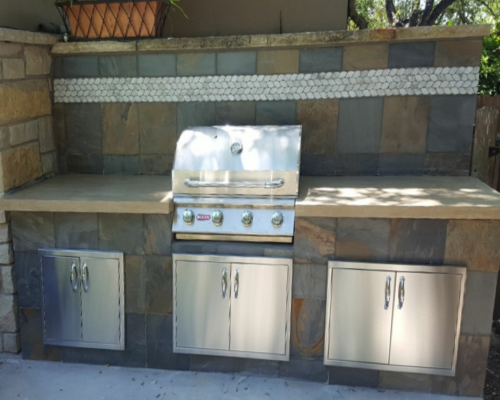 Handyman Services - YardDoc - Austin, TX - Outdoor Kitchen