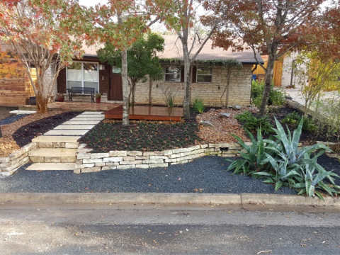 Outdoor Landscaping - YardDoc - Austin, TX - 3D Design