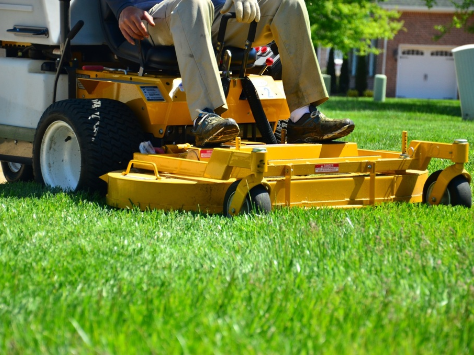 Lawn Care - YardDoc - Austin, TX - Lawn mowing with riding mower