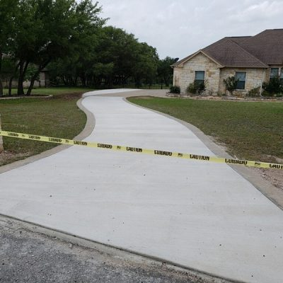 Cement Driveway Extension - Georgetown, TX