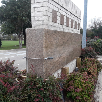 Monument Repair - Temple, TX