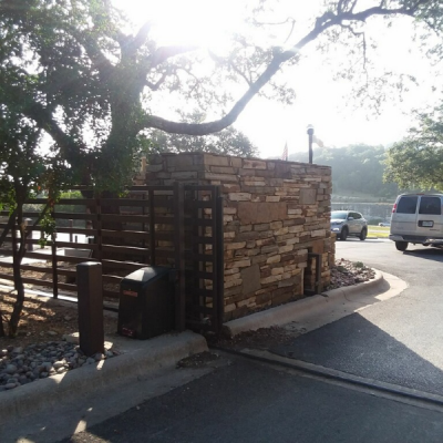 Gate Post Repair - Cedar Park, TX