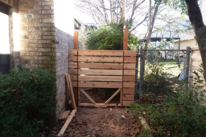 Handyman Services - YardDoc - Spanish Oaks, TX - Wooden Fence Gate Construction