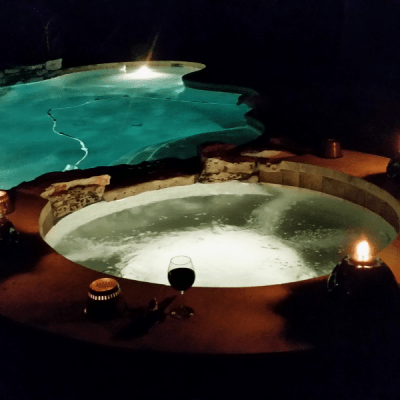 Pool Lighting - Barton Creek - Austin, TX