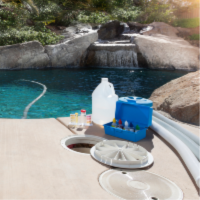 Pool Maintenance - YardDoc - North Austin, TX - Chemicals for pool cleaning