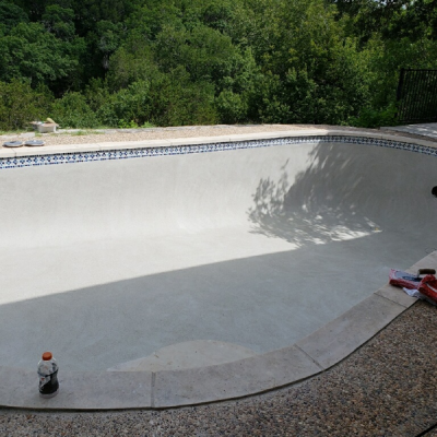 Pool Remodel and Replastering - Lakeway, TX