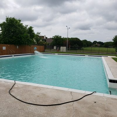 Swimming Pool Resurfacing Project Completed - Round Rock, TX