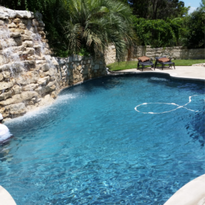 Pool and Spa Maintenance - Waterfall - North Austin, TX
